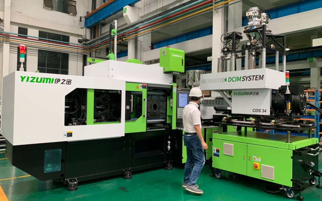 DCIM injection moulding compounding – Cooperation between Yizumi Ltd. and Exipnos GmbH
